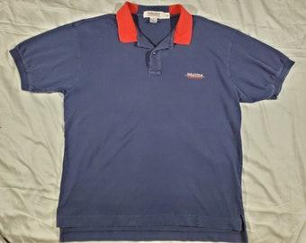 5b8692d8 Nautica Competition Vintage Polo Shirt Size L