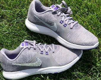 e68e62c3c18d Swarovski Crystal Womens Nike Flex Trainer 8