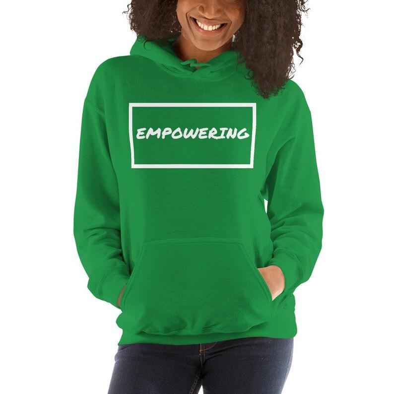 gift sweater girlfriend wife partner inspirational feminist woman jumper women rights hoodie Empowering sweatshirt