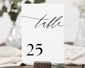 Place Cards & Table No.