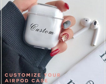 Personalized Airpod Etsy