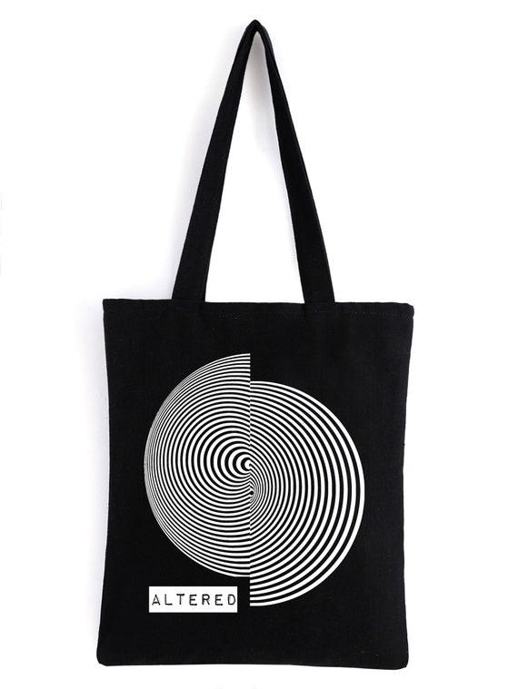 Coronation Occult Tote Bag Goth Accessories Canvas Bag Alternative Fashion