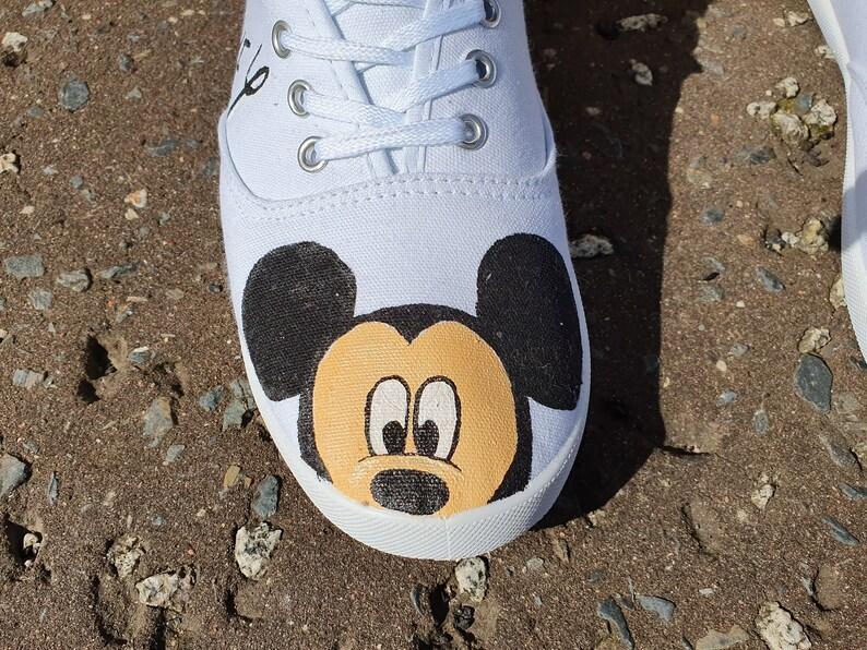 Disney Micky e Minnie dipinte a mano Scarpe 52igFPyD