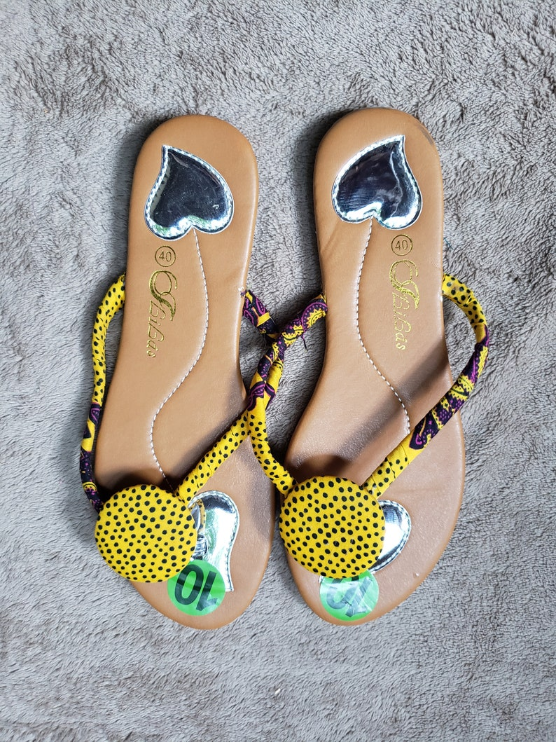 54bc5f5ded4cb African Kente Sandals For Women
