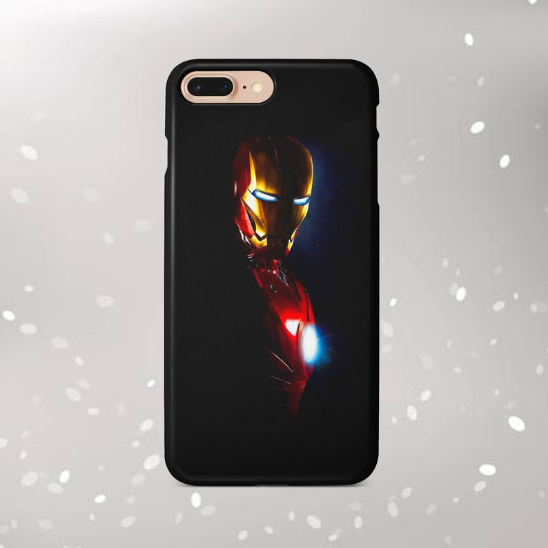 Ironman case Inspired by Marvel Comics case Samsung Galaxy S10 S9 case  iPhone 7 8 case iPhone X case iPhone Xs Max case iPhone 6 Plus SE