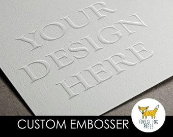 Embosser Desk-Top Seal Embosser dm20 Embossing Stamp Seal Personalized Desk Embosser Wedding Housewarming Gift CUSTOM EMBOSSER
