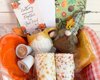 Gnome Baking Party In a Box, Fall Gnome Party, Gnome Gift Box, Gnome Lovers Box, Gnome Gift, Cute Fall Baking
