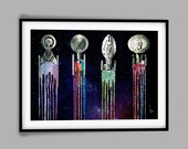 Star Trek Starfleet Art Print Special Edition