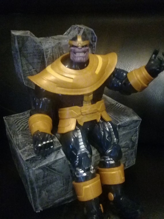 112 scale thanos throne marvel legends