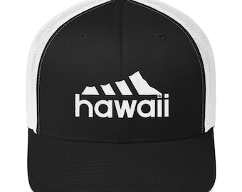 5e25b12ca76fba Hawaii Diamond Head Embroidered Trucker Hat