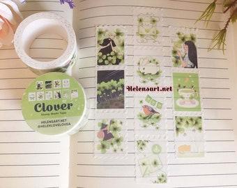 Clover Stamp Washi Tape