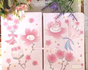 Cherry Blossom Sketchbook