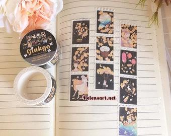 Ginkgo Stamp Washi Tape