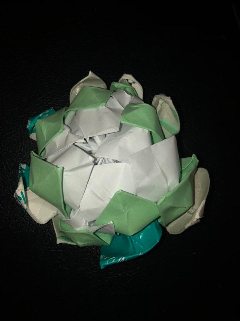 Large Origami Lotus Flower-Hot Pink - Tong's Art Studio | 1059x794