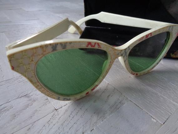 1950s AMERICAN SUNGLASSES-Rare 50s Sunglasses with