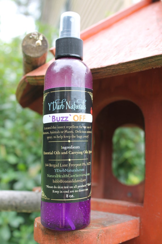 Natural Bug Repellent Spray Safe For Humans Animals And Etsy