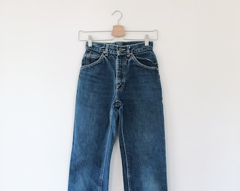 6287ea79 70s High Waisted Lee Jeans // Women's size 24, 0