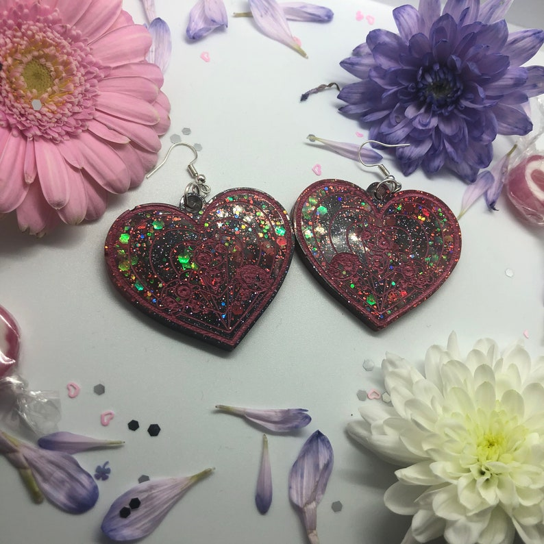 Puff Girl Earrings