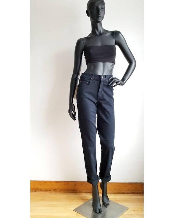 90s Black Jeans Boyfriend Jeans Highwaisted Jeans