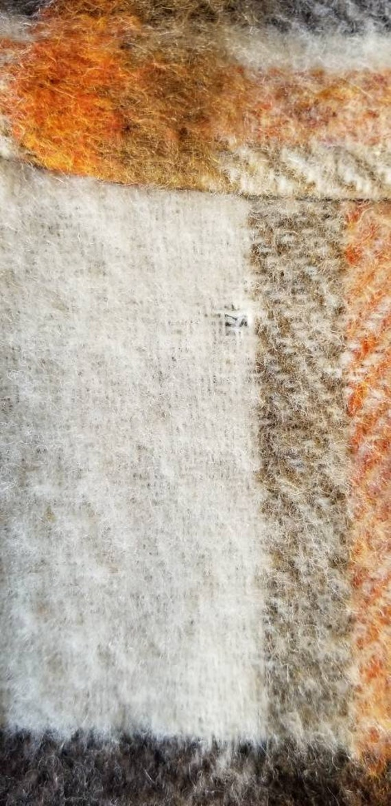 70s Wool Maxi Skirt, Hippie Skirt, Handmade Wool … - image 8