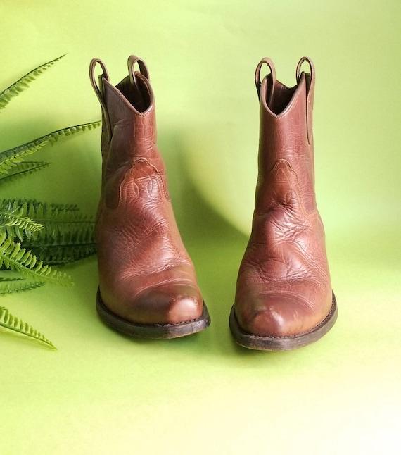 90s Cowboy Boots, Women Cowboy Boots, Ankle Cowboy