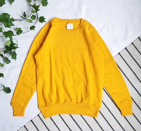 Kid Vintage/ Kids Sweatshirt, Kids Yellow Sweatshi