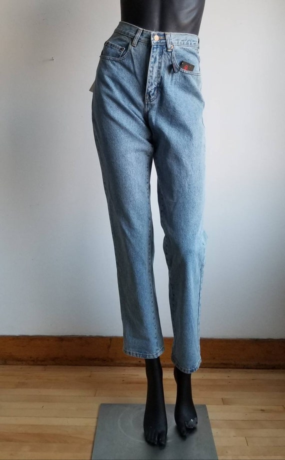 Mom jeans, Vintage blue jeans, Highwaisted women j