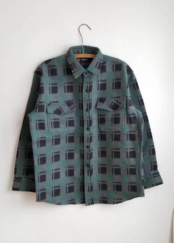 90s Deadstock Flannel Shirt, Vintage Lumberjack Fl