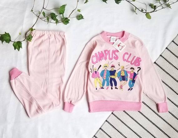 Kid Vintage/ Kids Pyjama, Girl Pyjama, Vintage New