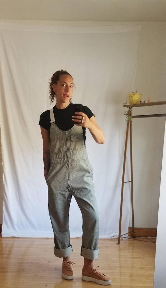 Men Overalls, Workwear Deadstock vintage denim Ove