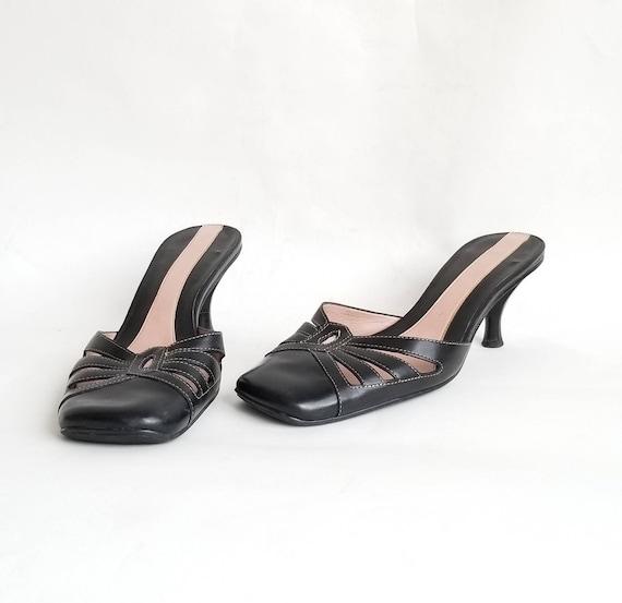 Kitten Heel Sandals, Vintage Nine West Heels Sanda