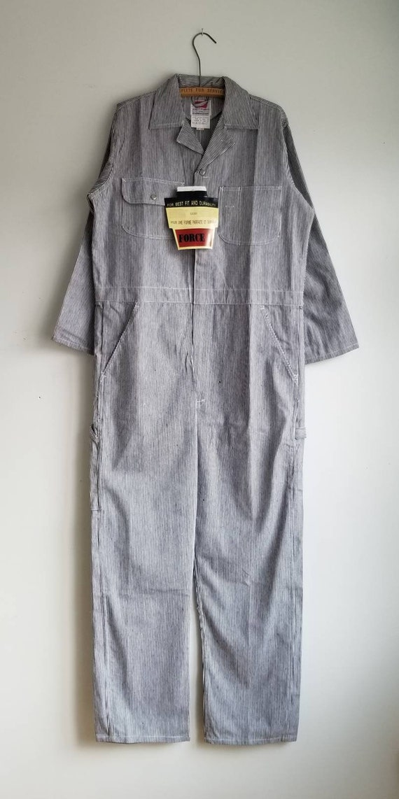 90s Deadstock Coverall, Pin Stripes Coverall, Deni