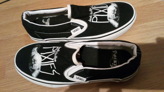 The Pixies x Vans Trainers UK4