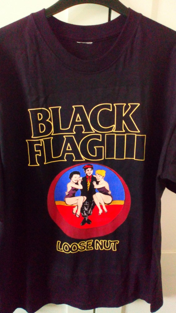 Black Flag 'Tour 1985' Shirt L