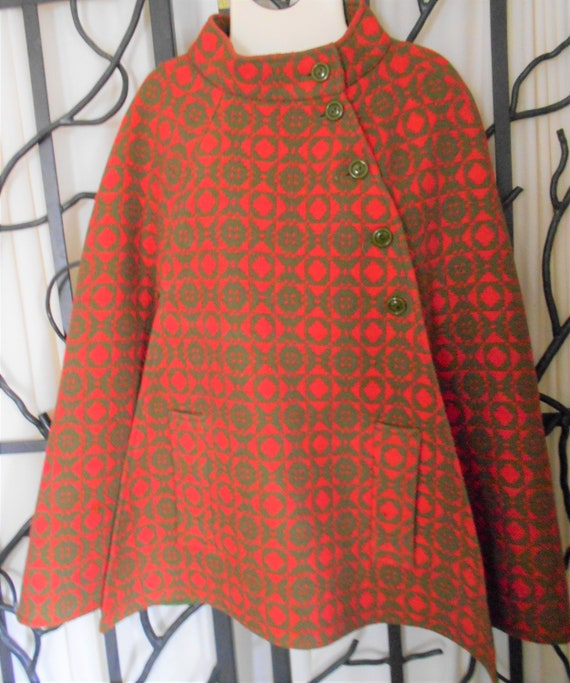 Welsh Woolens Tapestry Cape