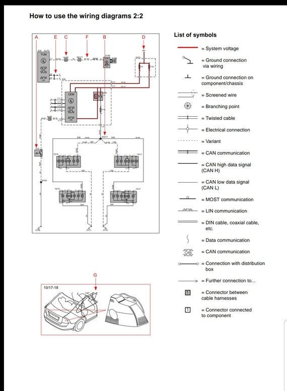 [ANLQ_8698]  Volvo S80 2002-2003 Wiring Diagram Full Manual | Etsy | 2002 Volvo Wiring Diagrams |  | Etsy
