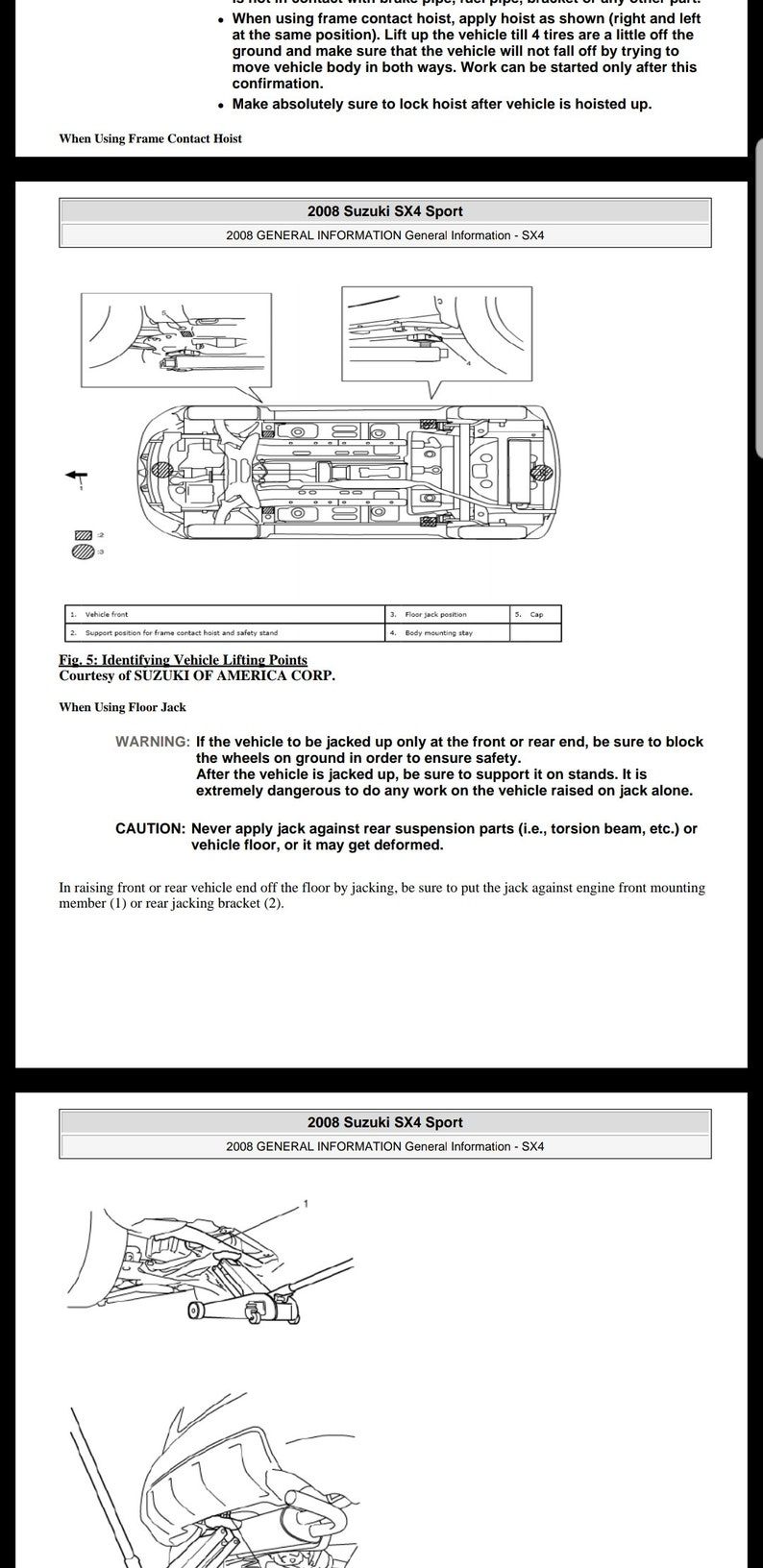 Suzuki SX4 Sport 2008 Workshop service repair manual INSTANT DOWNLOAD
