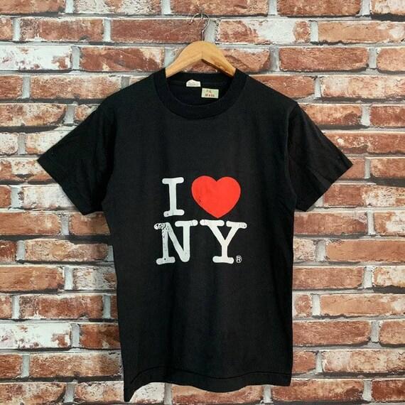 Vintage 90s I Love NY shirt graphic tee USA New Yo