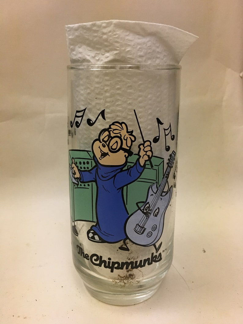 Alvin and the Chipmunks drinking glasses