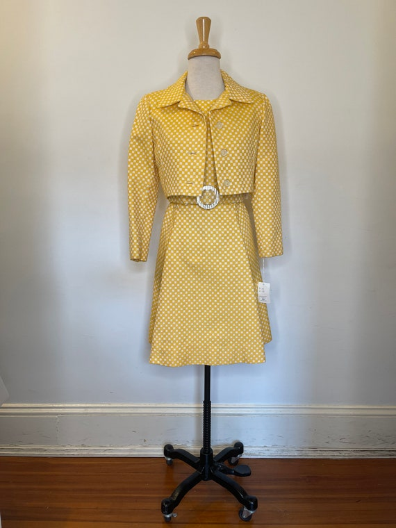 1950s I Magnin yellow set - image 7