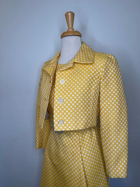 1950s I Magnin yellow set - image 6