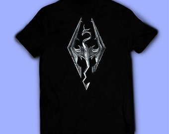 74441f426b Skyrim shirt, Skyrim t-shirt, tee. Shirt for men, women, and kids / unisex.  Birthday gift high quality. Father's gift, mother's gift