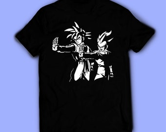 3512c1067d733 Goku and Vegeta shirt, Pulp Fiction t-shirt, tee. Shirt for men, women, and  kids / unisex. Birthday gift high quality. Father's gift, gift