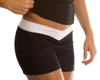 British Flag Womens Low-Waist Hot Pants Workout Yoga Shorts
