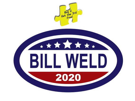 Bill Weld Republican For President 2020 Decal Sticker #510