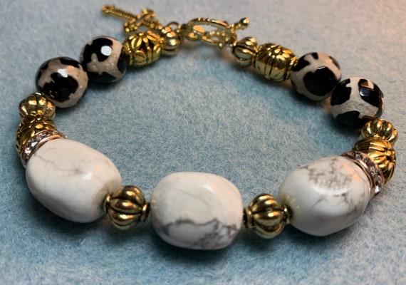 Howlite Spiritual bracelet.