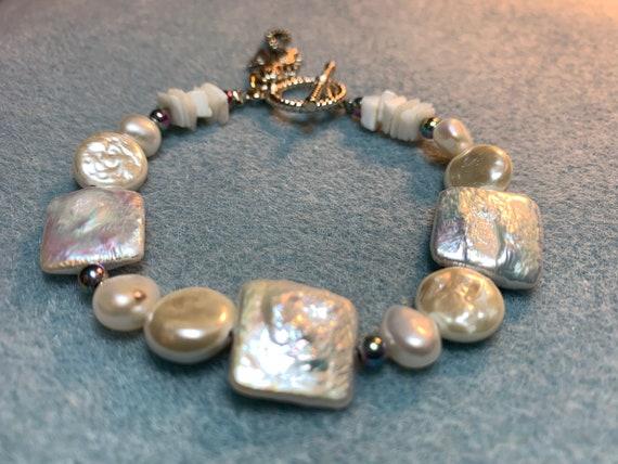 Under The Sea Pearl Bracelet