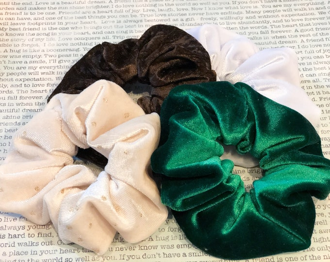 Featured listing image: The Barista Bunch Scrunchie Set