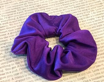 Royal Purple Lycra Scrunchie