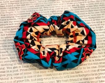 Native American Cotton Scrunchie